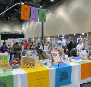 CSA Pavilion at Good Food EXPO