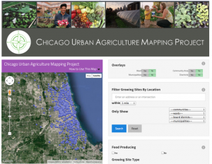 Chicago Urban Agriculture Mapping Project
